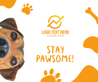 Stay Pawsome Facebook post