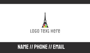 Eiffel Chart Business Card