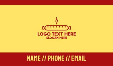 Hot Sausage Business Card