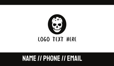 Star Skull Business Card