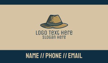 Mobster Hat Business Card