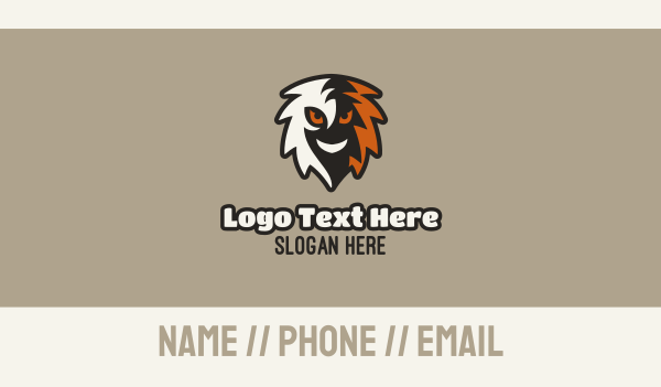 twitch streamer - Ghoul Mascot Gaming Business card horizontal design