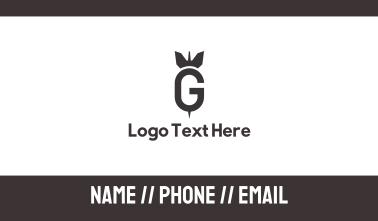 Bomb Dart G Business Card