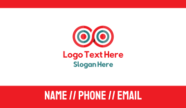 Infinity Target Business Card