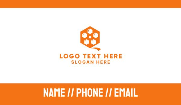 beehive - Hive Reel Business card horizontal design