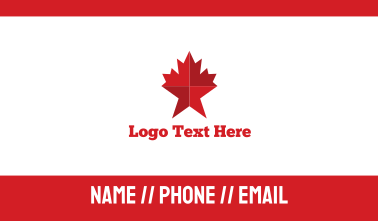 Maple Star Business Card