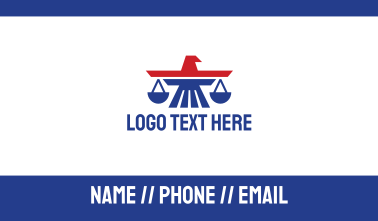 American Eagle Law Business Card