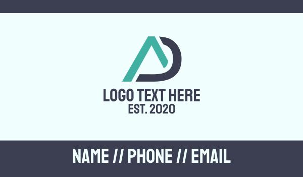 industries - Modern AD Business card horizontal design