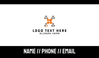 Radioactive Drone Business Card