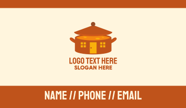 Home Cooking Soup Pot Business Card