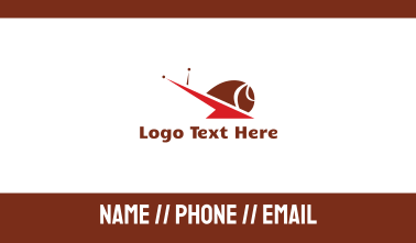 Red Snail Business Card