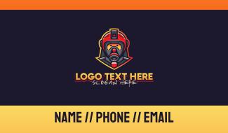 Fire Rescue Team Business Card