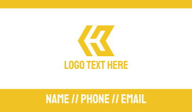 Yellow Arrow Gaming  Business Card