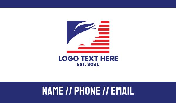 derma - Miss USA Business card horizontal design