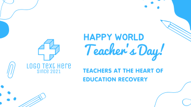 Happy Teacher's Day Facebook event cover