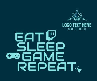 Esports Gaming Eat Sleep Game Repeat Facebook post