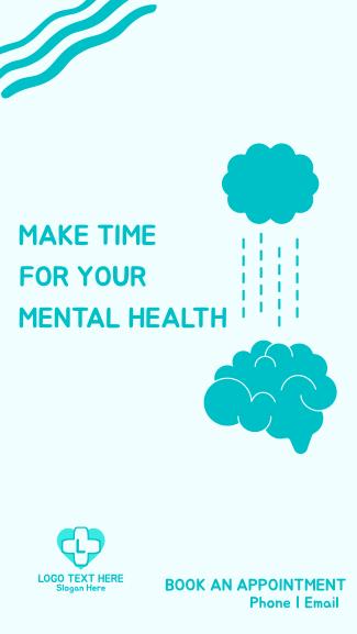 Mental Health Priority Facebook story