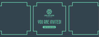 Art Deco Invitation Facebook cover