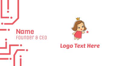 Little Princess Business Card