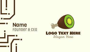 Kiwi Ham Business Card