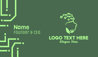Eco Eyeglasses Business Card