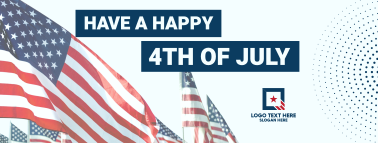 Have A  Happy 4th Of July Facebook cover