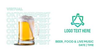 Virtual Oktoberfest Facebook event cover