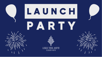 Launch Party Facebook event cover