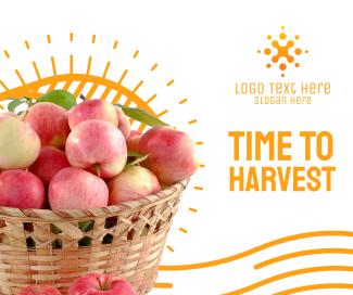 Harvest Apples Facebook Post