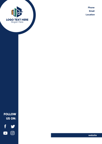 Simple and Generic Letterhead