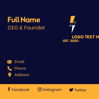 Thunder Energy Business Card