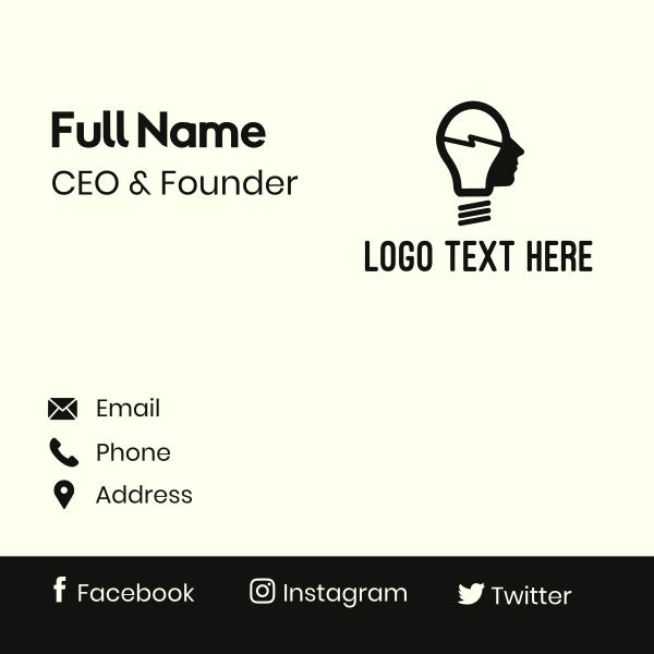 Lamp Man Business Card