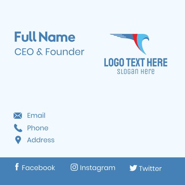 Falcon Logistics Service Business Card