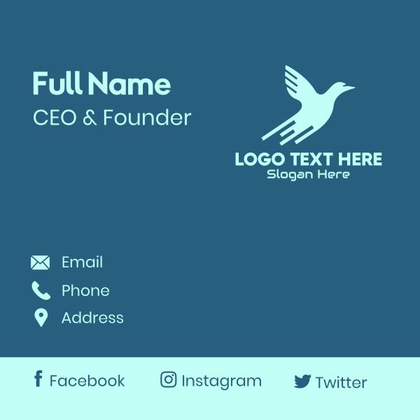 Blue Bird Tech Business Card