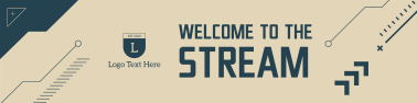 Welcome To The Stream Twitch banner
