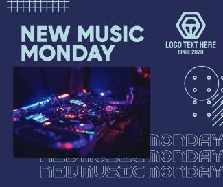 DJ Music Set Facebook post