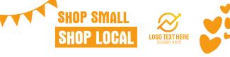 Shop Small Shop Local LinkedIn banner