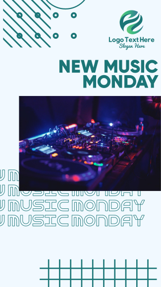 DJ Music Set Facebook story