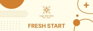 Fresh Start Twitter header (cover)