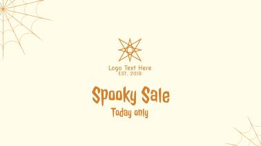 Spooky Sale Facebook event cover