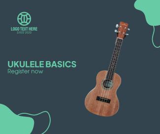 Ukulele Class Facebook post