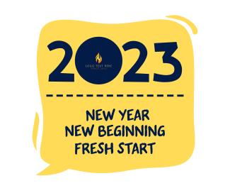 New Year New Beginning Facebook post