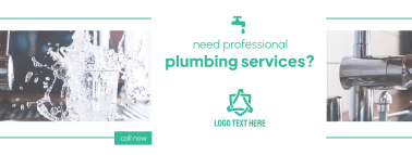 Professional Plumbing Services Facebook cover