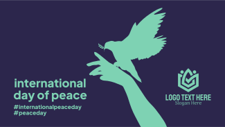 Day Of  Peace Hand Facebook event cover