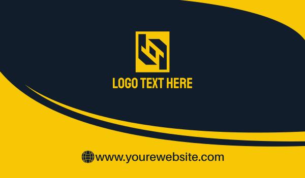 trade - Corporate Business card horizontal design