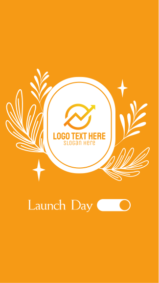 Business Launch Day Facebook story