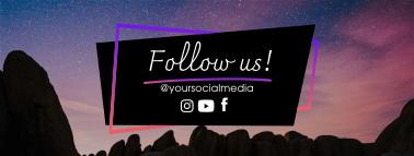 Astronomy Galaxy Facebook cover