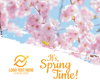 Spring Time Facebook post