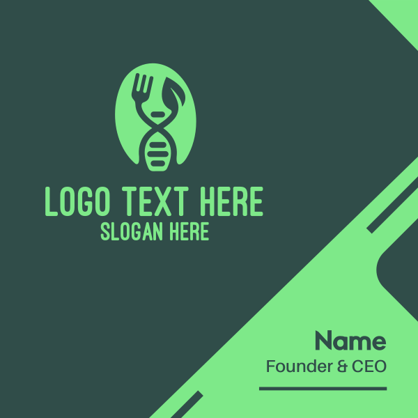 Food DNA Business Card