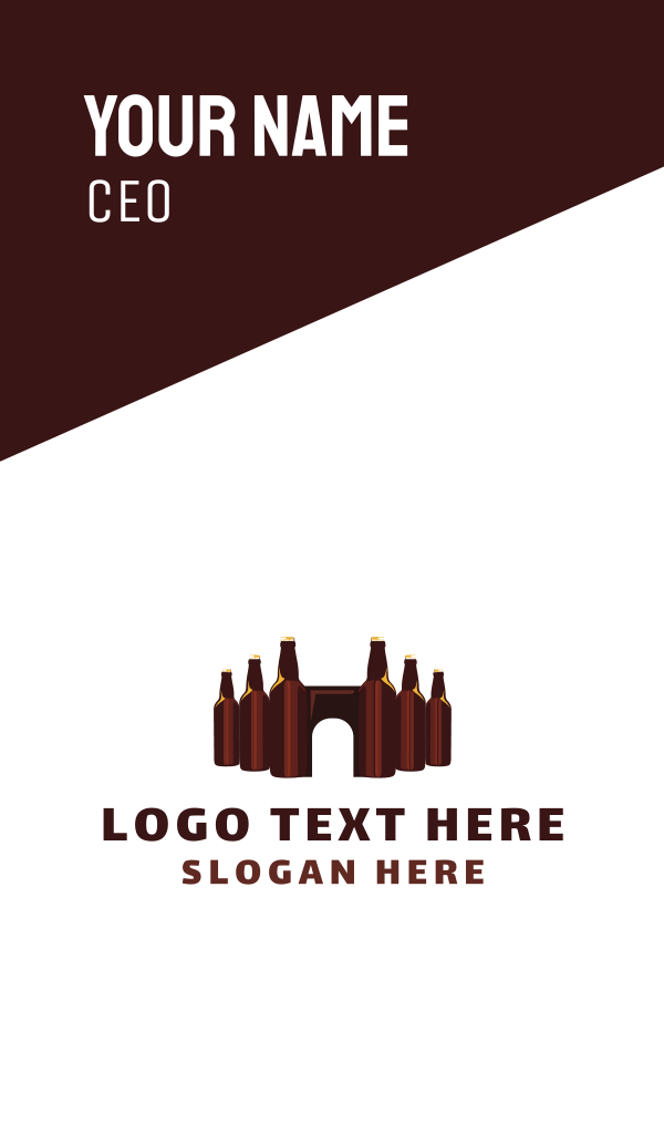 Beer Castle Business Card